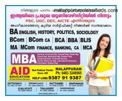 AID Education, Malappuram - Get UG/PG from the No 1 Distance Education Center