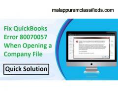 Are you facing QuickBooks error code 80070057? Here is the fix