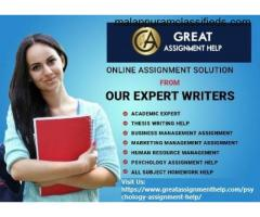 Great Psychology Assignment Help in the USA