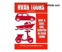 Private Boat Tours Hvar - Antonio Rent