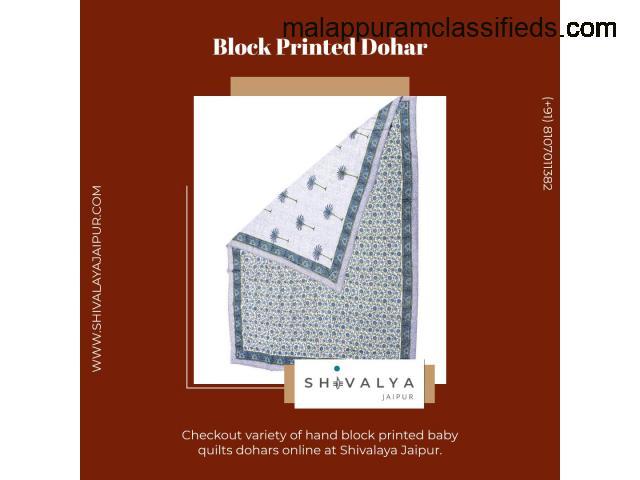 Block Printed Dohar