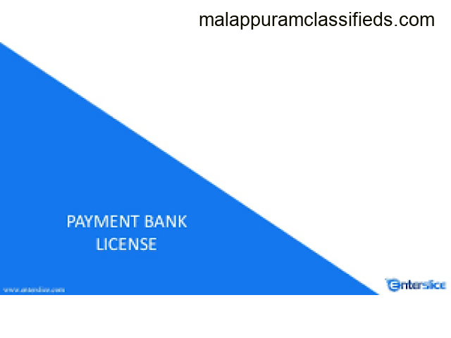 Payment Bank Licnese in India - Enterslice