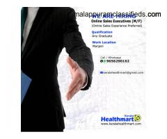 Online Sales Executive job in Manjeri, Malappuram