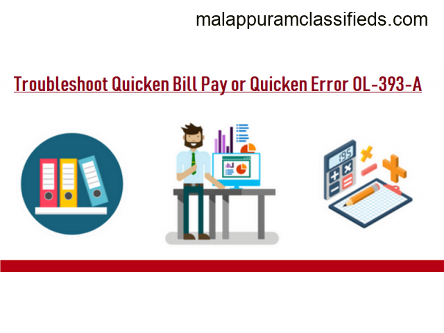 Facing Quicken Error Ol-393-A? Know-How To Fix It Via Techies