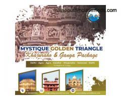 MYSTIQUE GOLDEN TRIANGLE, KHAJURAHO & GANGA PACKAGE