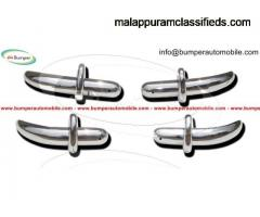 Saab 92 bumper (1949-1956) by stainless steel