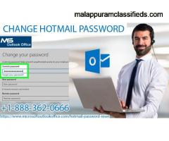 Simple tips to change Hotmail account password