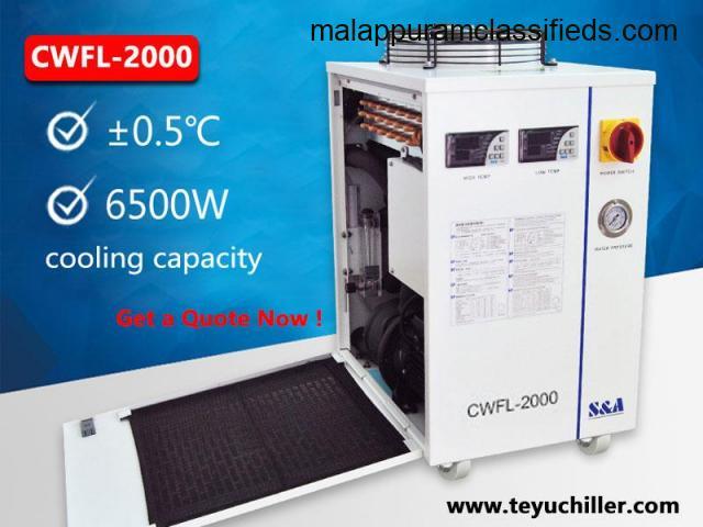 Industrial water cooling chiller for fiber laser welding machine