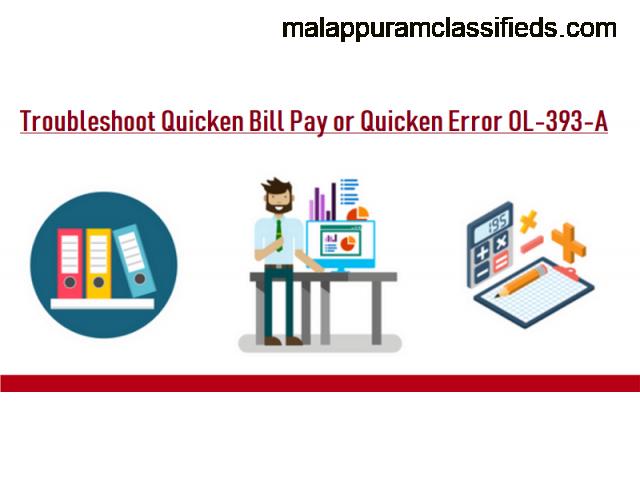 Get quick support to fix Quicken error ol-393-a