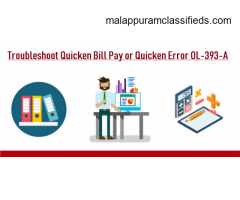 Get quick support to fix Quicken error ol-393-a