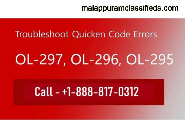 How to get Quicken error ol-297-a resolved?