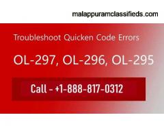 How to get Quicken error ol-297-a resolved?