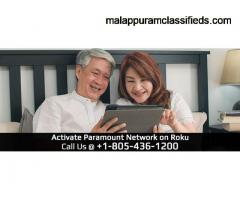 Paramount network Roku activation