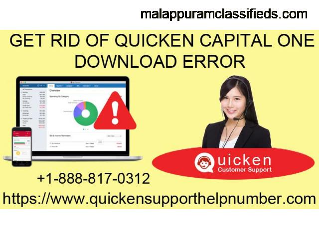 Do you need an immediate fix for Quicken capital one download error?