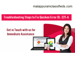 Call our experts and fix Quicken error OL-221-A!