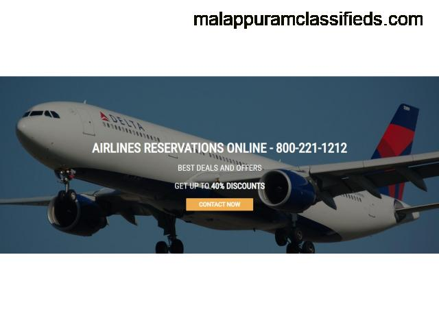 Find delta airlines reservations telephone number