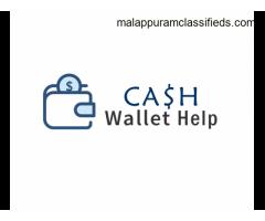 CashWalletHelp website