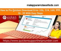 How to rectify Quicken download error 324?