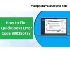 How To Overcome QuickBooks Error 80029c4a?