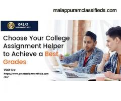 Choose Your College Assignment Helper to Achieve a Best Grades
