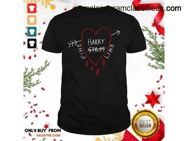 Hot Attractive Fine Line Styles of Harry Tee Shirt