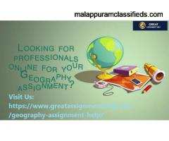 Best Geography Assignment Help with Homework in USA