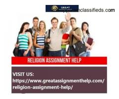 Religion Assignment Help | Expert Writing Services USA