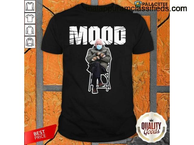 Top Bernie Sanders Gloves Mittens Bad Mood 2021 Shirt
